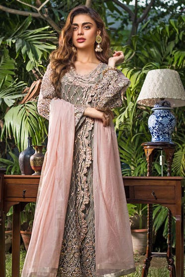 3PC Royal Festive Embroidered Suit BR-18