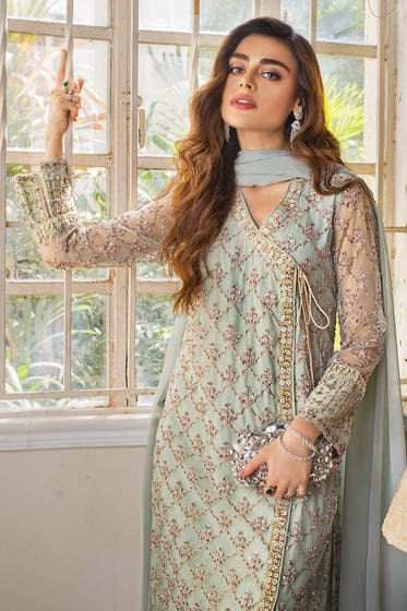 3PC Royal Festive Embroidered Suit BR-16