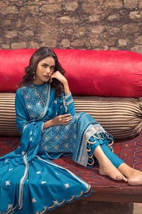 3PC Unstitched Pashmina Suit AP-12065