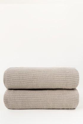 Silver Grey Thermal Blanket
