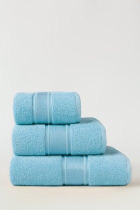 Sky Blue Combed Towel Viscose