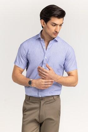 Sky Blue Formal Shirt CVC-YD-493 HS