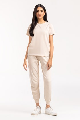 Crew T-shirt and Trousers Set SLS-21-107 A