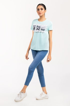 Printed T-shirt SLS-21-114
