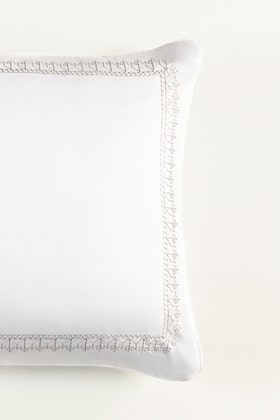 Snow T-400 Embroidered Square Cushion