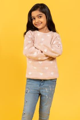 Pink Sweater SWK-FW19-102 B