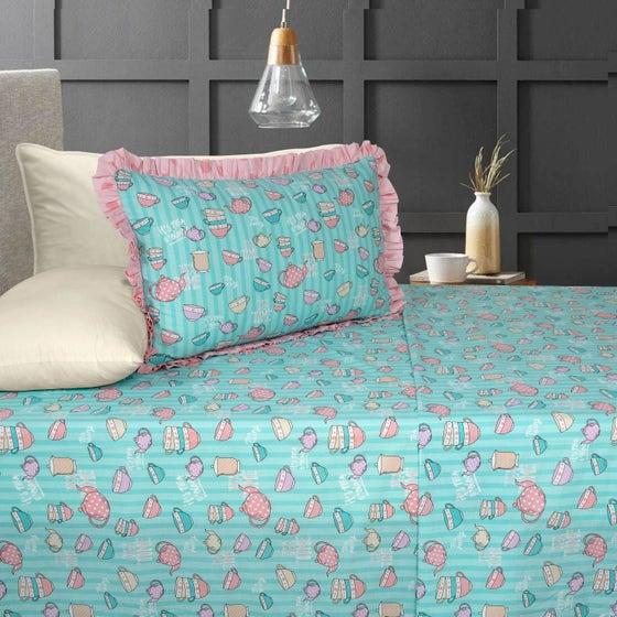 Tea Time T-150 Bed Sheet Set