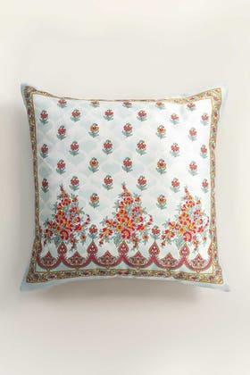TURQ HAZE Digital Cushion Cover
