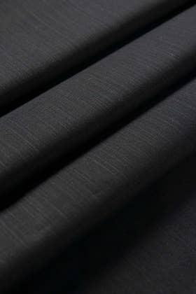 Black Unstitched Fabric CASHMERE KHADDAR
