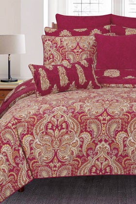 Visage Red T-150 Bed Throw