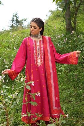 3PC Unstitched Pashmina Suit AP-12039