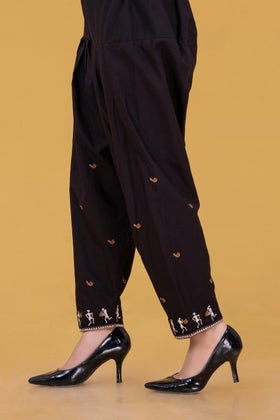 Embroidered Cambric Shalwar WGK-TRS-DY-14