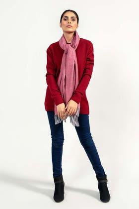 Soft Acrylic Round Neck Sweater WG-SWT-W21-003 B