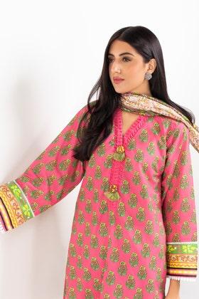 Cambric Digital Printed Shirt and Lawn Digital Printed Dupatta  WGK-CMS-DP-501