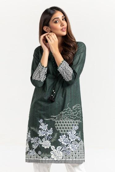 Cambric Digital Printed Shirt WGK-LWS-DP-431