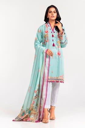 Cambric Digital Printed Shirt & Lawn Digital Printed Dupatta WGK-LWS-DP-480
