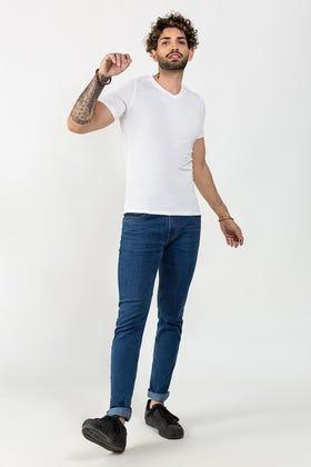 White Basic T-shirt JVN-SIG-D031