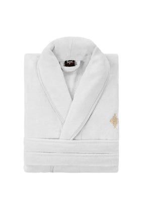 White Carded Bathrobe 19