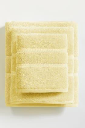 Yellow COMBED TOWEL PLAIN 20