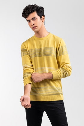 Yellow Fashion Sweater FS-SWT-FD-363-01